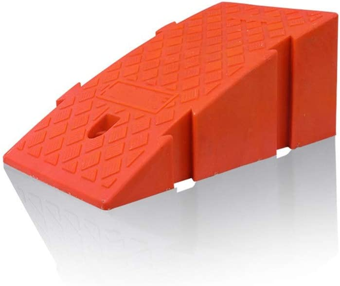 Rampa De Goma 2 piezas de goma de rampa Mats del aparcamiento ...
