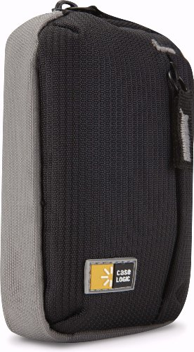 - Case Logic TBC-302BLACK Black Ultra-Compact Camera Case With Storage