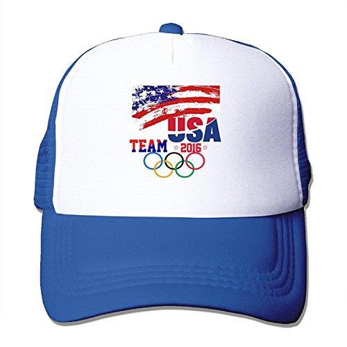 6d36f575b8e82 novak djokovic hats. New Style Adult Unisex Team USA 2016 Olympic 100%  Nylon Mesh Caps One Size Fits