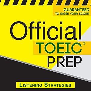 Official TOEIC Prep - Listening Strategies Audiobook