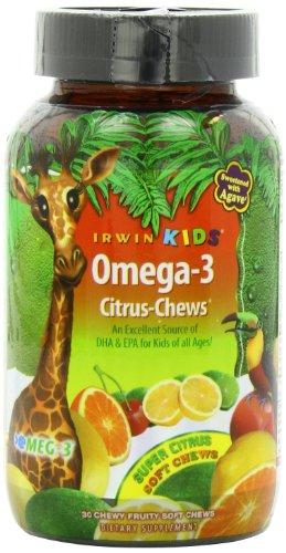 Irwin Naturals Childrens Omega 3 Citrus