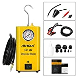 AUTOOL SDT-202 12V Automotive Fuel Leak Detector Car Pipe Leak Locator Machine Support Pipe Systems/Motorcycle/Cars/SUVs/Boat with Pressure Gauge