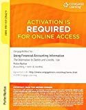 img - for CengageNOW v2, 1 term Printed Access Card for Porter/Norton's Using Financial Accounting Information, 10th book / textbook / text book