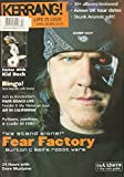 Kerrang! #850 April 28 2001 UK Magazine WE STAND ALONE! FEAR FACTORY: BURTON BELL'S ROBOT WARS Easter With Kid Rock