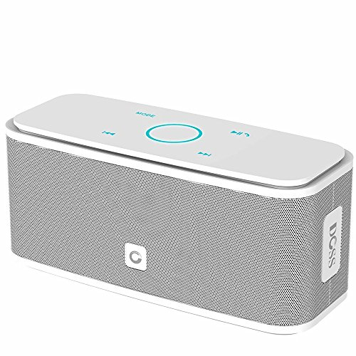 (DOSS SoundBox Bluetooth Speaker, Portable Wireless Bluetooth 4.0 Touch Speakers with 12W HD Sound and Bold Bass, Handsfree, 12H Playtime for Phone, Tablet, TV, Gift Ideas[White])