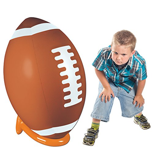 Inflatable Football & Tee Set Party Accessory (1 count) (1/Pkg) -