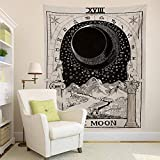 Third Goddess The Moon Wall Tapestry, 50 x 60 Inches Polyester Tapestry Home Dorm Wall Art Accessories