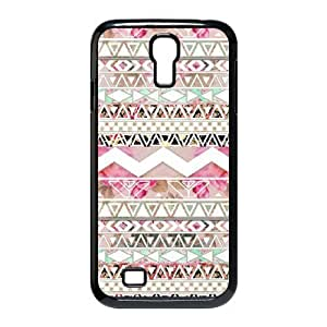JFLIFE Aztec Tribal Diy For SamSung Galaxy S3 Case Cover Black Shell Phone [Pattern-1]