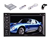 Pupug User Interface 3G Internet Dongle In Dash Car DVD Player with GPS Navigation Bluetooth TV Stereo Radio FM/AM TV PC