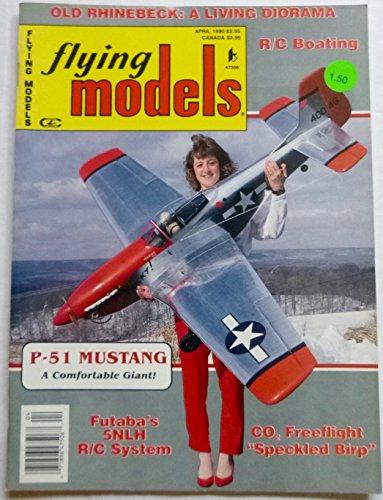 Flying Models, Vol. 94, No. 4/593, April 1990, Futaba