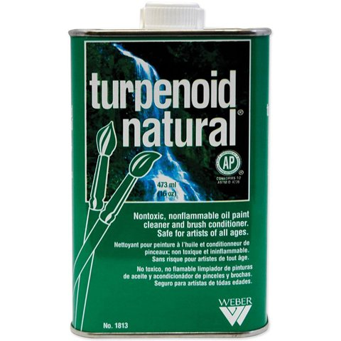 (Better Crafts TURPENOID NATURAL 16OZ NONTOXIC THINNER (1 pack) (0BR18130))