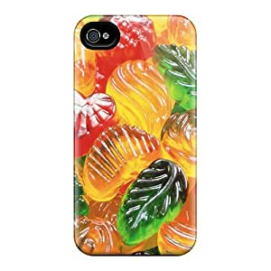 For Iphone 6 Premium Cases Covers Background Of Sweets Protective Cases