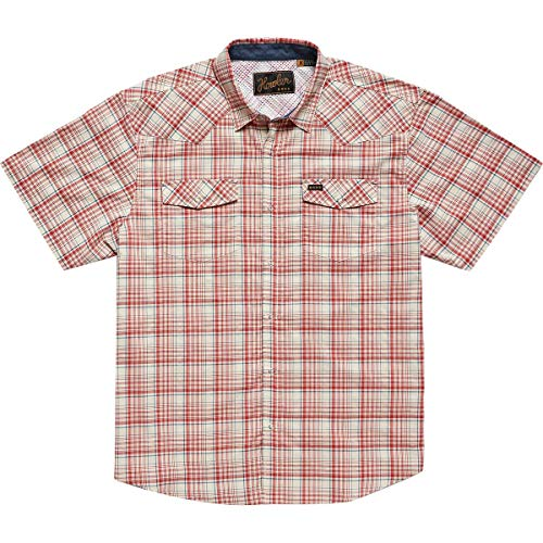 Howler Brothers H Bar B Western Short Sleeve Snap Shirt