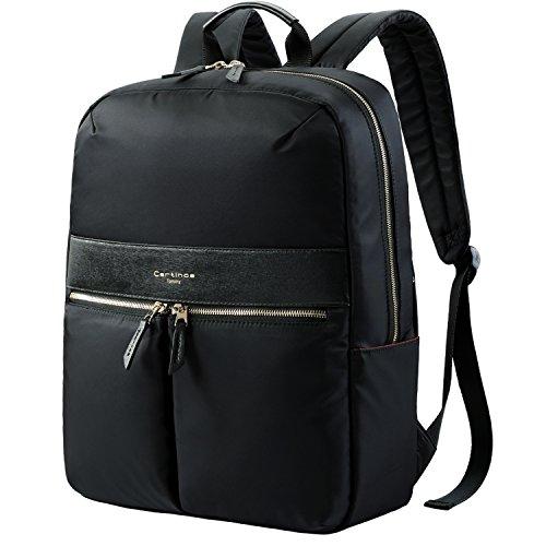 Laptop Backpack, Anti-Theft Backpack Waterproof Laptop Bag, RFID Blocking Design Lightweight Backpack Business Travel Backpack College Daypack School Bookbag for Teenage Men Women 15.6 inch - Black ()