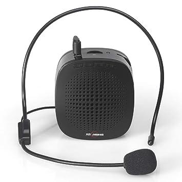 Amazon.com: LJ2 - Amplificador de voz con cable, recargable ...