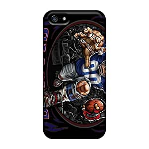 Durable Protector Cases Covers With New York Giants Hot Design For Iphone 5/5s