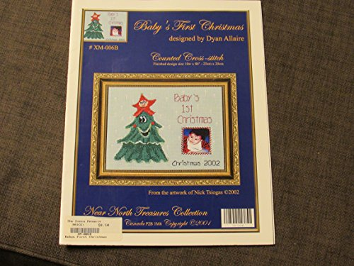 BABY'S FIRST CHRISTMAS COUNTED CROSS-STITCH xm-006b Dyan Allaire Cross Stitch