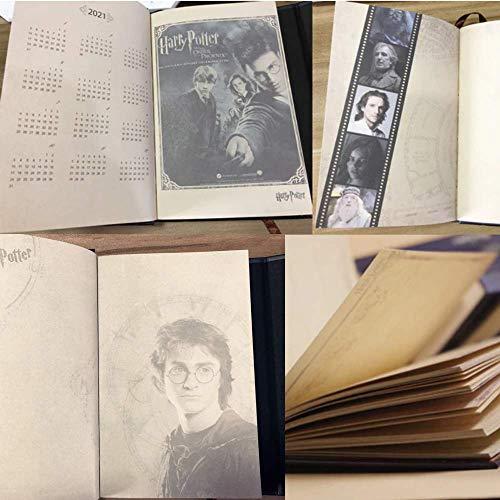 Amazon.com : Vintage Harry Potter Notebook Journal Agenda ...