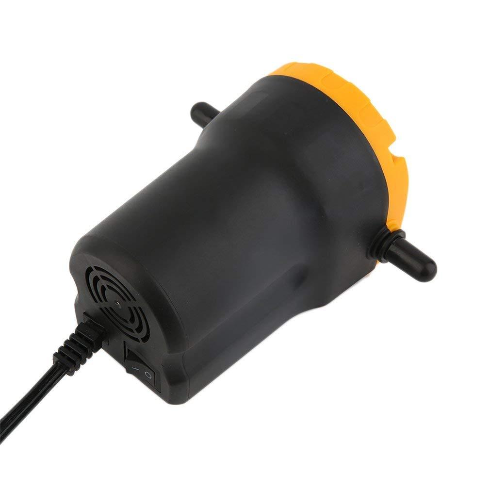 Blackpoolal /Ölabsaugpumpe 60 Watt Dieselpumpe 12V 2 Schl/äuche /Ölpumpe Kraftstoffpumpe /Ölwechsel Pumpe Absaugpumpe Elektrisch f/ür /Öl und Diesel