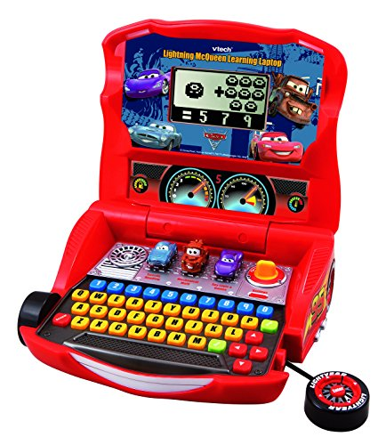 Vtech Language Laptop - VTech - Disney's Cars - Lightning McQueen Learning Laptop