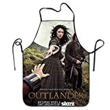 Outlander Tv Season 2 The Story Continues Adjustable Kitchen Apron For Cooking Baking Barbecue