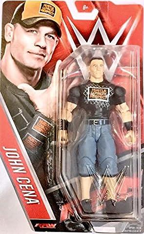 WWE JOHN CENA 6 FIGURE (Blue Pants/Black Shirt) (John Cena Pants Belt)