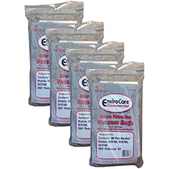 Eureka Sanitaire Style SD Vacuum Cleaner Replacement Bags # 63262