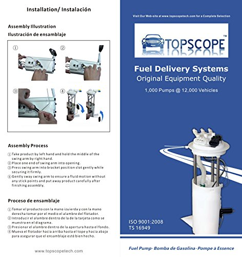 topscope fp3500m fuel pump module assembly e3500m for. Black Bedroom Furniture Sets. Home Design Ideas