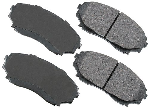 Akebono ACT551 ProACT Ultra-Premium Ceramic Front Brake Pad Set For 1992-2003 Mazda MPV