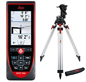 leica disto s910 984ft laser distance measurer point to point measuring red black. Black Bedroom Furniture Sets. Home Design Ideas