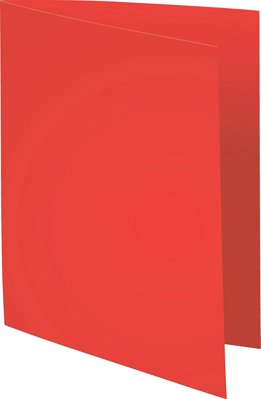 Exacompta 420012E Cartelle Semplici 24x32 cm Rosso