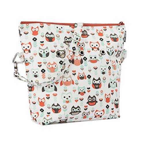 Yarn Pop Totable Knitting Bag - Owl Jamboree by Yarn Pop