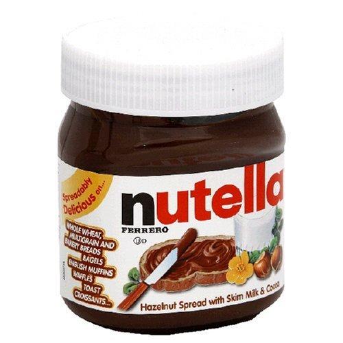 Nutella Hazelnut Spread, 13-Ounce Plastic Jar (Pack of 5) by Nutella [Foods]