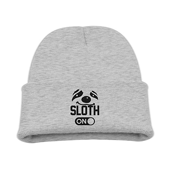 Sloth Mode On Ash Wool Knit Hat -
