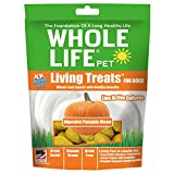 Whole Life Pet Living Treats Freeze Dried Probiotic Treats for Dogs Digestive Pumpkin Blend, 3oz