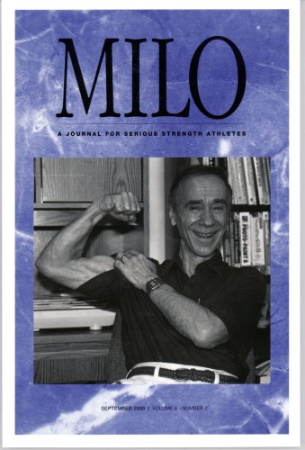 Read Online MILO: A Journal for Serious Strength Athletes, Vol. 8, No. 2 pdf
