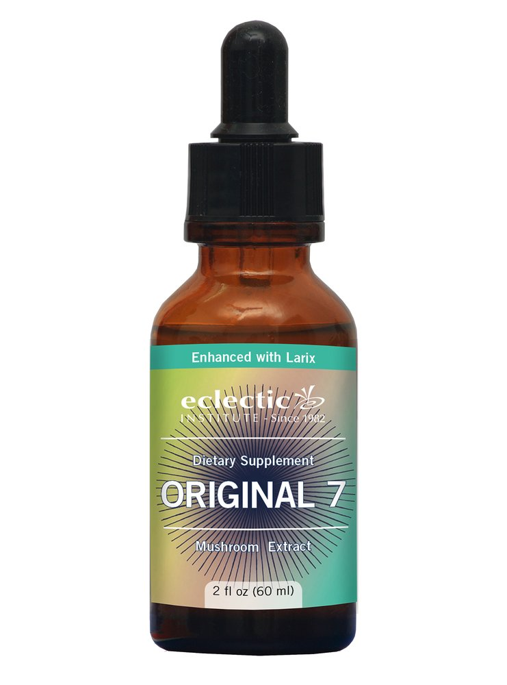 Eclectic Original 7 Mushrooms O, Green, 2 Fluid Ounce