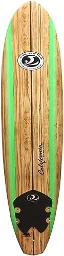 Soft Foam Surfboard for Beginner/Starter, 7-Feet, Slick Bottom [California Board Company] Picture