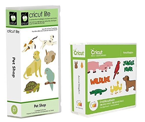 Cricut Cartridge Bundle: Animal Kingdom & Pet Shop