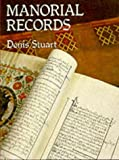 Manorial Records, Denis Stuart, 0850338212