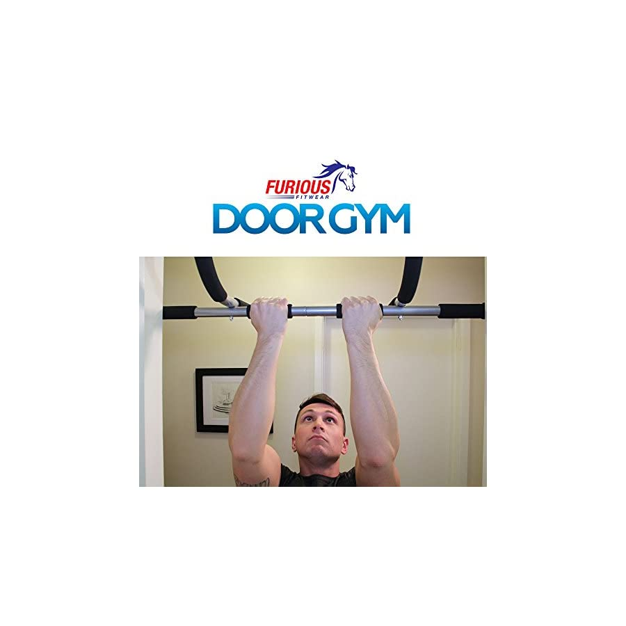 Furious Fitwear Door Pull up Bar for Pull up and Chin up Exercises
