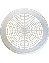 Want 8 NEW WHITE PLASTIC PAPER PLATE HOLDERS, PICNIC, BBQ wholesale