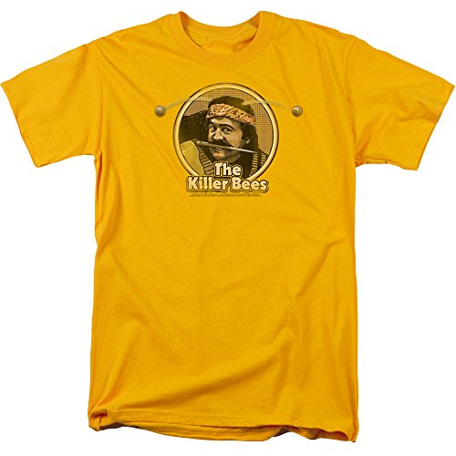 Trevco Unisex Saturday Night Live SNL Killer Bees Adult T-Shirt, gold XX-Large]()