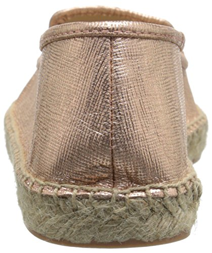 Negen West Dames Beachinit Metallic Espadrille Roze