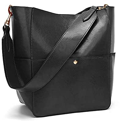 COCIFER Handbags for Women Shoulder Bags Tote Satchel Hobo 2pcs Purse Set