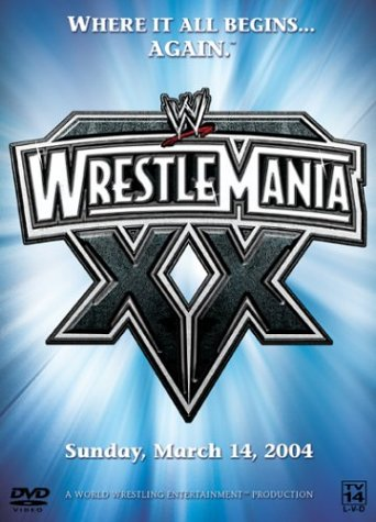 WWE Wrestlemania XX (The Rock Vs Brock Lesnar Vs John Cena)