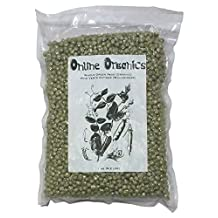 OnlineOrganics Organic Dried Whole Green Peas, Vacuumed Packed - 1 Kg (2.2 Lbs)