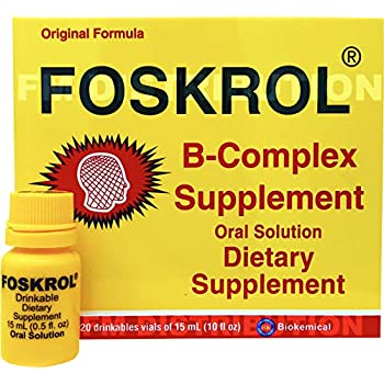 Foskrol (Complejo B) - B Complex Supplements