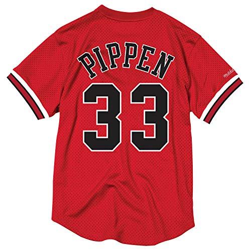 Scottie Pippen Chicago Bulls Mitchell & Ness NBA Men's Mesh Jersey Shirt ()