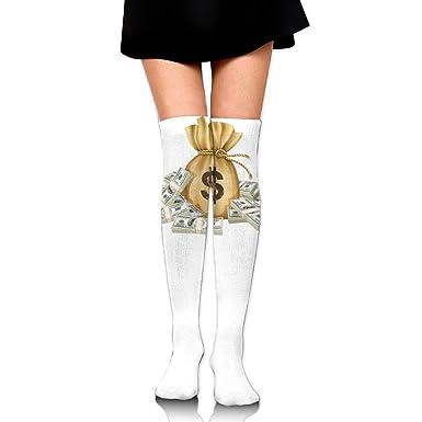 Amazon.com: Bolso para mujer con muslo alto sobre la rodilla ...